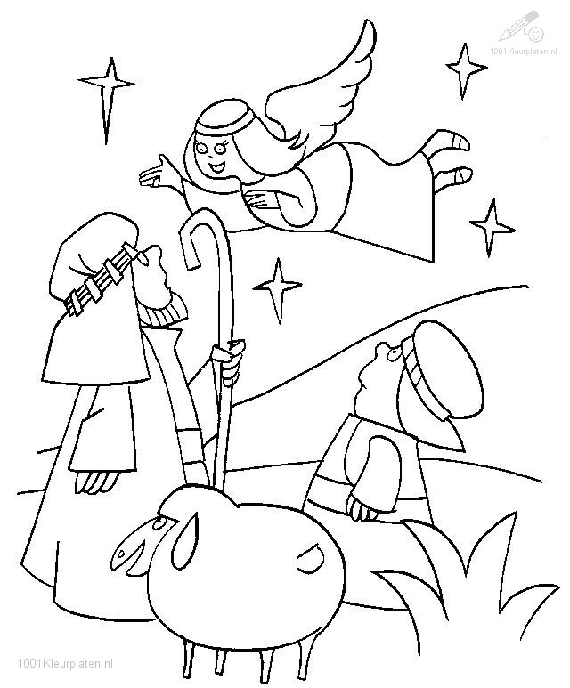 HD wallpapers nativity coloring page