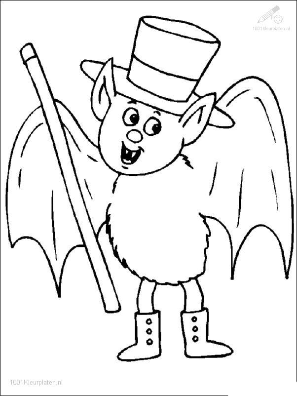 Kleurplaten Over Halloween.1001 Kleurplaten Seizoen Halloween Kleurplaat Halloween